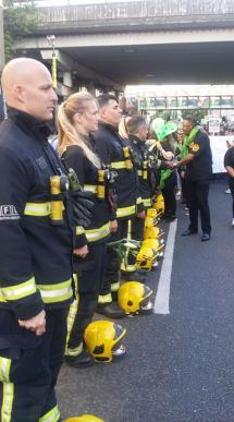 Grenfell fire fighters